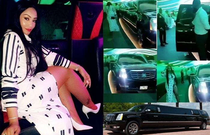 During day Zari could hang out in the sun while at the pool bar and at night, she could hit top hangouts in this ride