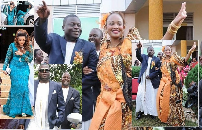 Zari during her introduction ceremony that cost over a billion shillings