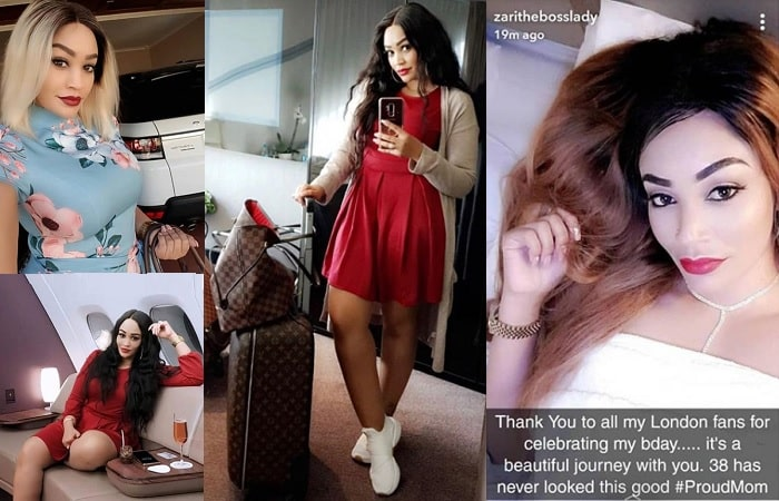 Zari's trip to the UK was not necessarily the best