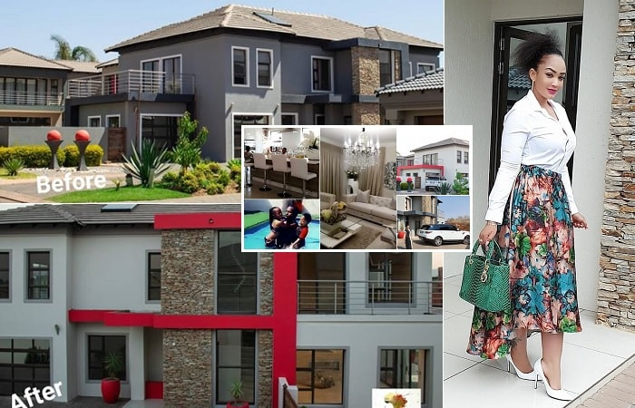 Zari's Villa before and after...