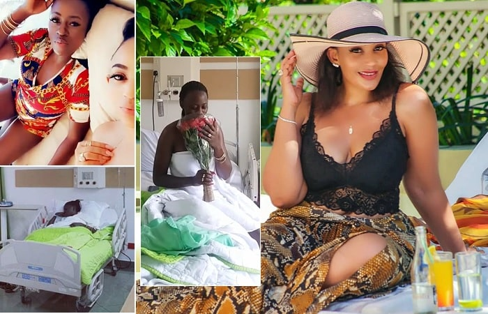 Zari was in Kenya to check on Akothee