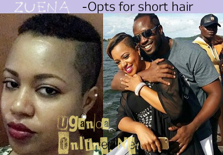 Zuena opts for short hair