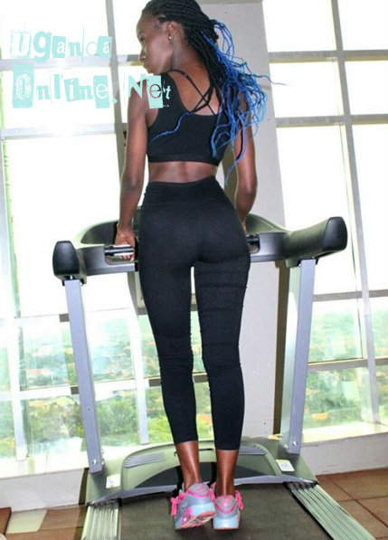 Lolah Adhama on a treadmill