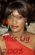 Miss Uganda 2003 -Aysha Salma Nassanga