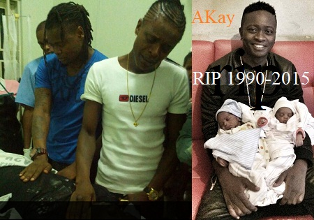 Pallaso and Weasel mourning Akay
