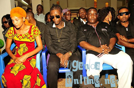 Daniella, Chameleone, Bossa of the Ebonies and Meddy Ssentongo