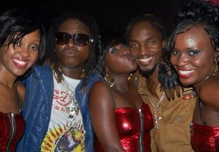 Mya, Weasel, Lillian, Radio and Jackie Chandiru