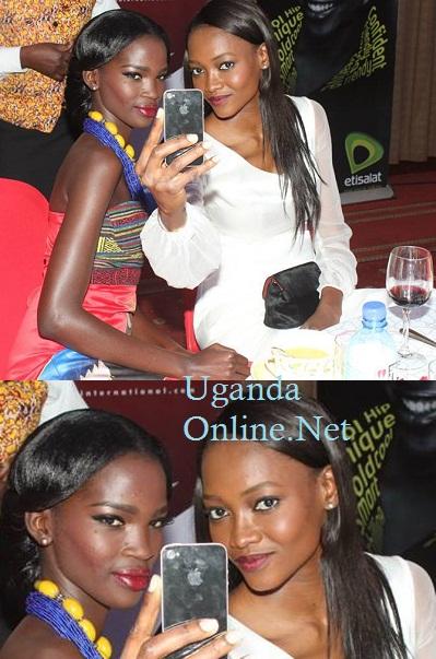Supermodels at Kampala Serena Hotel