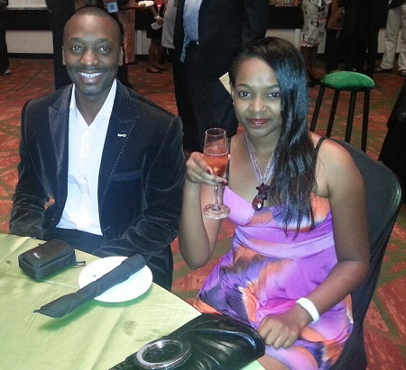 Matthew Nabwiso in good company at Lagos during the AMVCA Awards