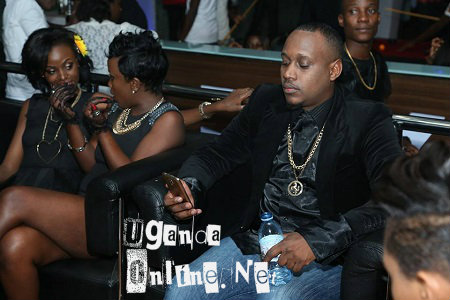 Leila Kayondo and Hellen chat strategically, but is busy with his phone