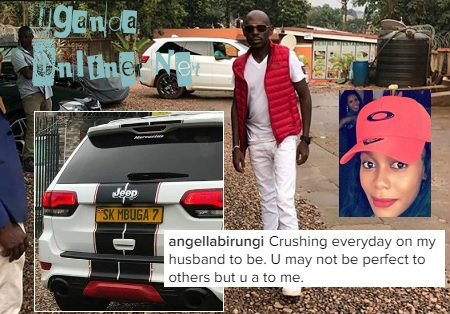 SK's babe, Angella Birungi sums it up in a few words