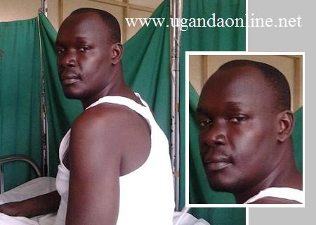Martin Angume at Mulago Hospital