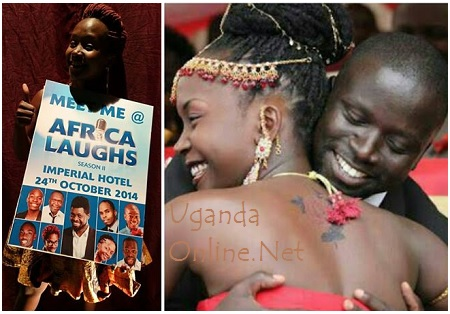 Anne Kansiime and Gerald Ojok on their introduction day