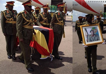 Body of General Aronda Nyakairima finally home