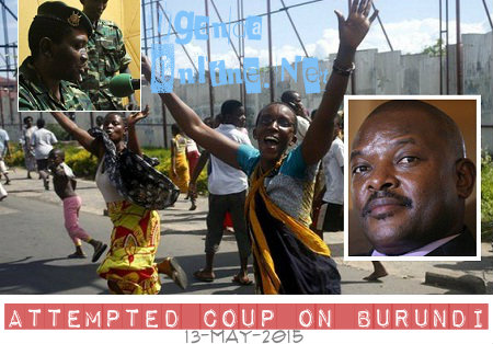 Attempted coup on Burundi