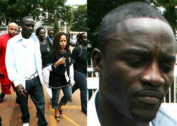Akon in Kampala(May 2008)