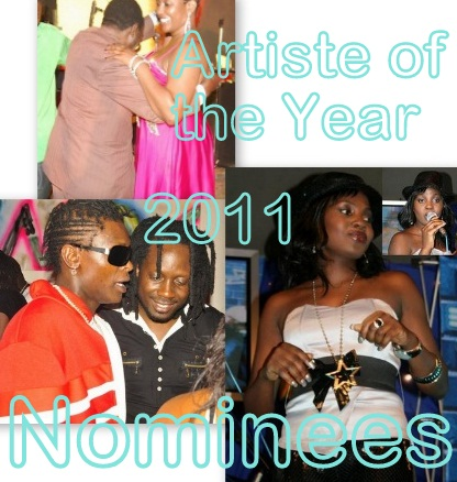 PAM Awards Artiste of the Year 2011 Nominees