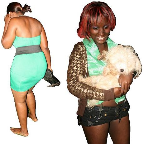Babes at a concert in Kampala
