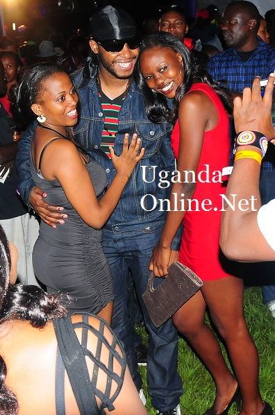 Redsan and Babes at the Badlilisha concert
