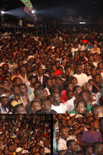 Fans at the Basiima Ogenze Concert