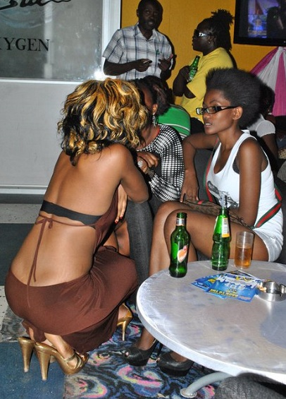 Kampala babes in sexy attires
