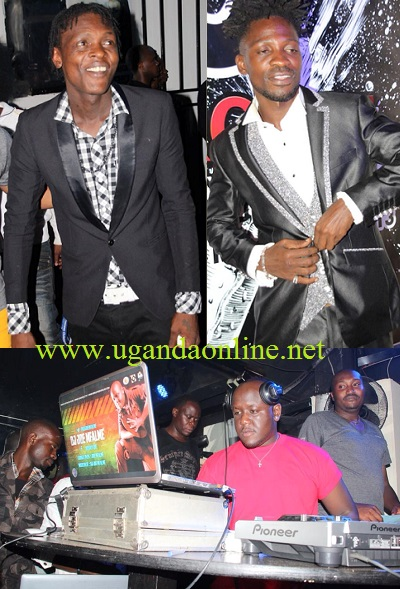 Chameleone and Bobi at Club Rouge