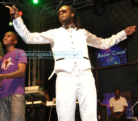 Bebe Cool at his previous launch