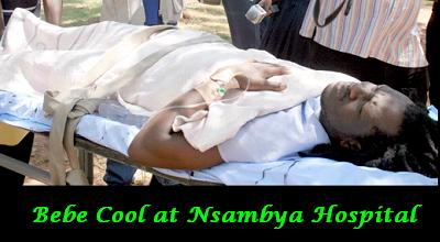 Bebe Cool at Nsambya Hospital