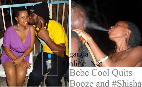 Bebe Cool is off booze and smoking