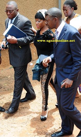 Bad Black outside Buganda Road  Court