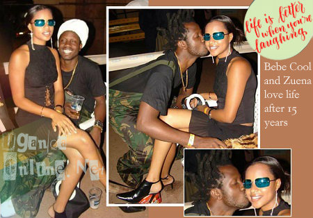 Zuena and Bebe Cool 15 years back