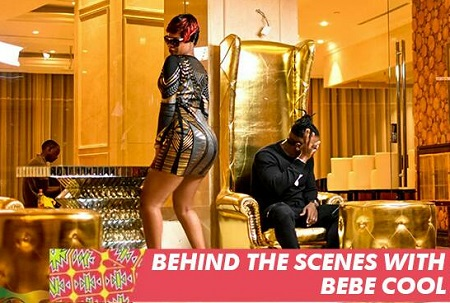 Behind the scenes of Bebe Cool's Nananana video