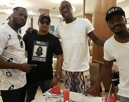 Bebe Cool, Alybhai and the Sauti Sol crew