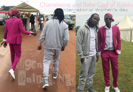 Chameleone and Bebe Cool at Kololo Grounds