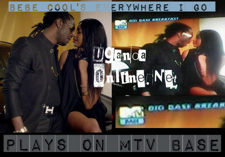 Bebe Cool's Everywhere I Go plays on MTV Base