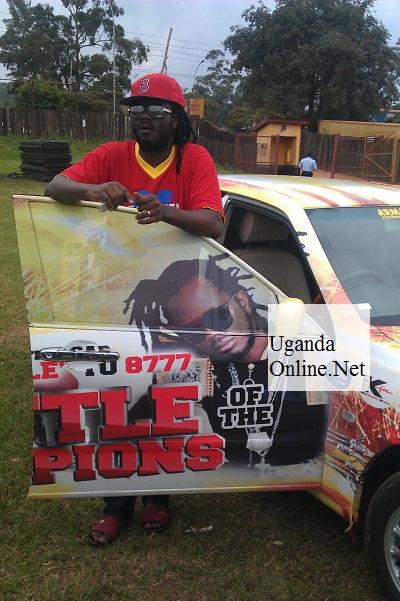 Bebe Cool at Kyadondo Rugby Grounds