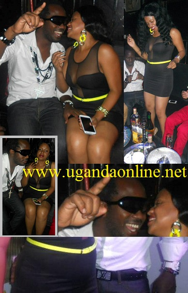 Bebe Cool and Zuena at Club Rouge