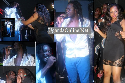 Bebe Cool, Edith K and Zuena during the Unplugged show