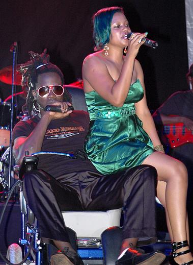 Bebe Cool and Zuena at KCC Grounds