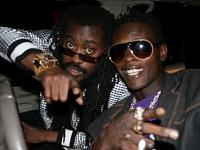 Beenie Man and Dr. Jose Chameleone