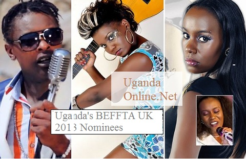 Chameleone, Naava Grey and Juliana are 2013 BEFFTA Nominees