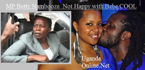 Mukono MP Betty  Nambooze on Bebe Cool with the way he does his thing during the Talent XP auditions