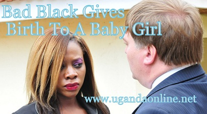 Bad Black has given birth to a baby girl