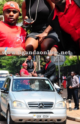 Bad Black on Speke Road after being released on bail