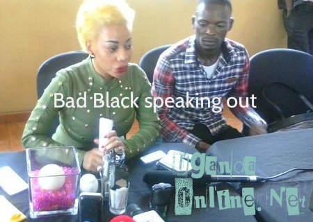 Bad Black and her manager, Eddy Black