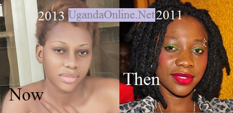 Bad Black then and now after the nose job