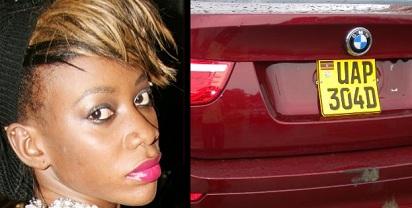 Bad Black's BMW in Garage