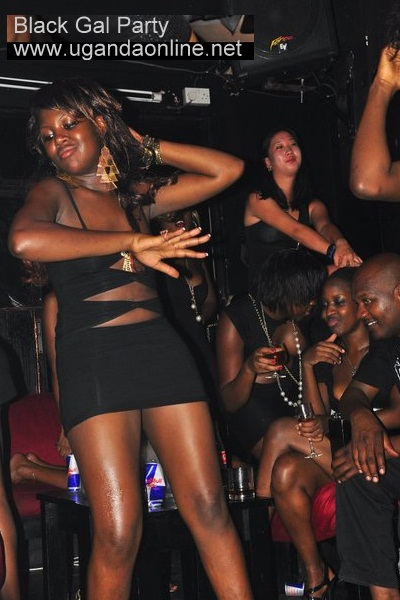Black Gal Party Revellers