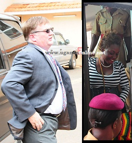 The Mzungu behind the arrest at court following the proceedings