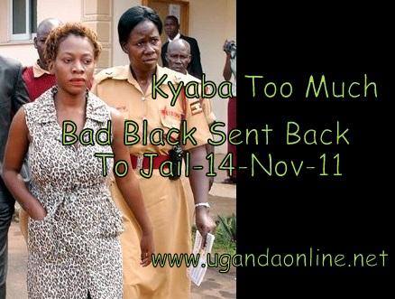 Again.....Bad Black Sent back to Luzira prison